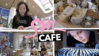 SM Entertainment's Restaurant, Cafe, and K-Pop Store!