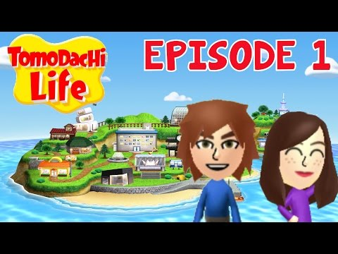 TOMODACHI LIFE Episode 1 FR Nintendo 3DS - Commençons l'aventure sur l'île de Poochy
