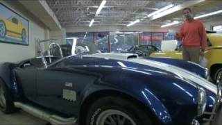 1965 A.C. Shelby Cobra for sale at with test drive, driving sounds, and walk through video
