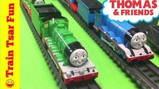 Repeat youtube video Takara Tomy Plarail Henry The Green Engine Thomas the Tank Engine & Friends Trains