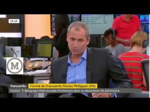 Florian Philippot sur Sarkozy et Buisson 27 09 2016