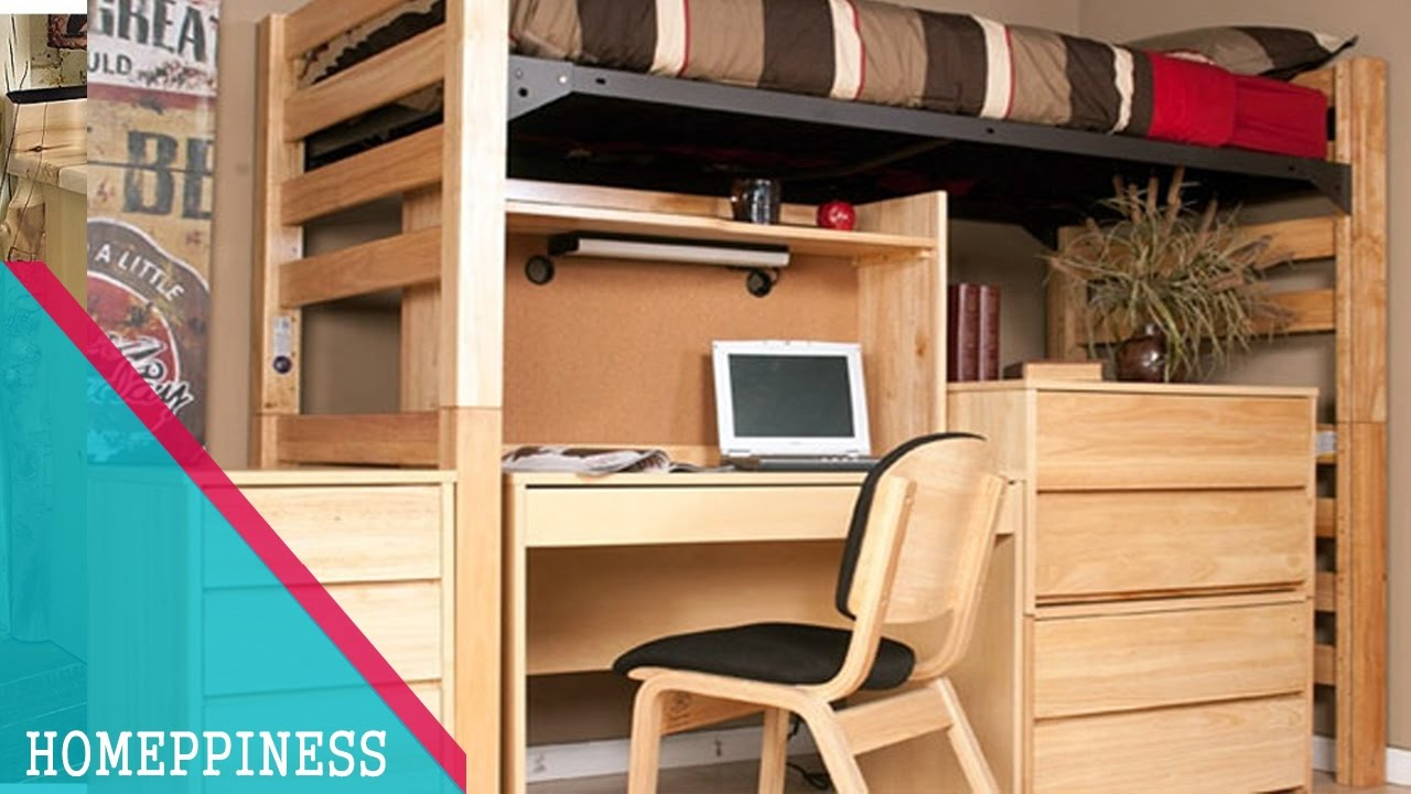 70 Stylish College Loft Bed With Desk It S Decoration