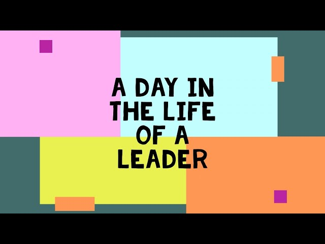 A day in the life of a CPSC leader