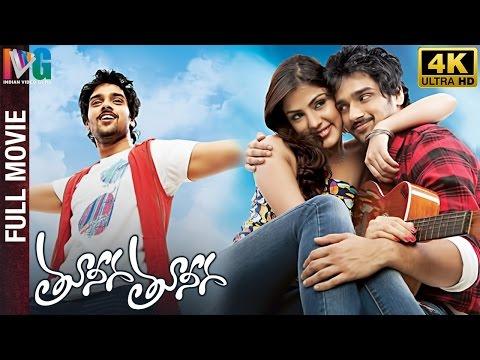 Tuneega Tuneega Telugu Full Movie   4K Ultra HD   Sumanth Ashwin   Rhea   Prabhu   Indian Video Guru