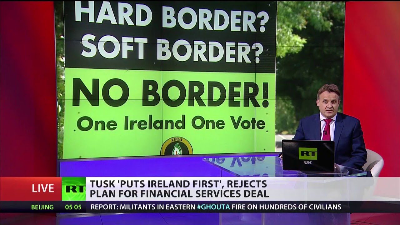 Tusk puts 'Ireland first', rejects plan for financial services deal