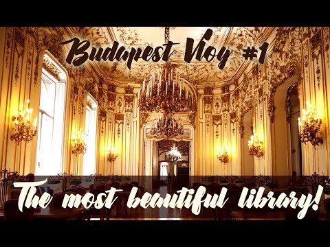 The Most Beautiful Library! | Budapest Vlog #1