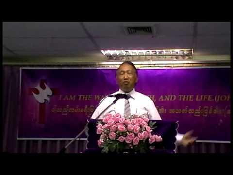 """Sermon of """"Kingdom"""" by Rev. Nai Tun Than on 26 May 2013"""