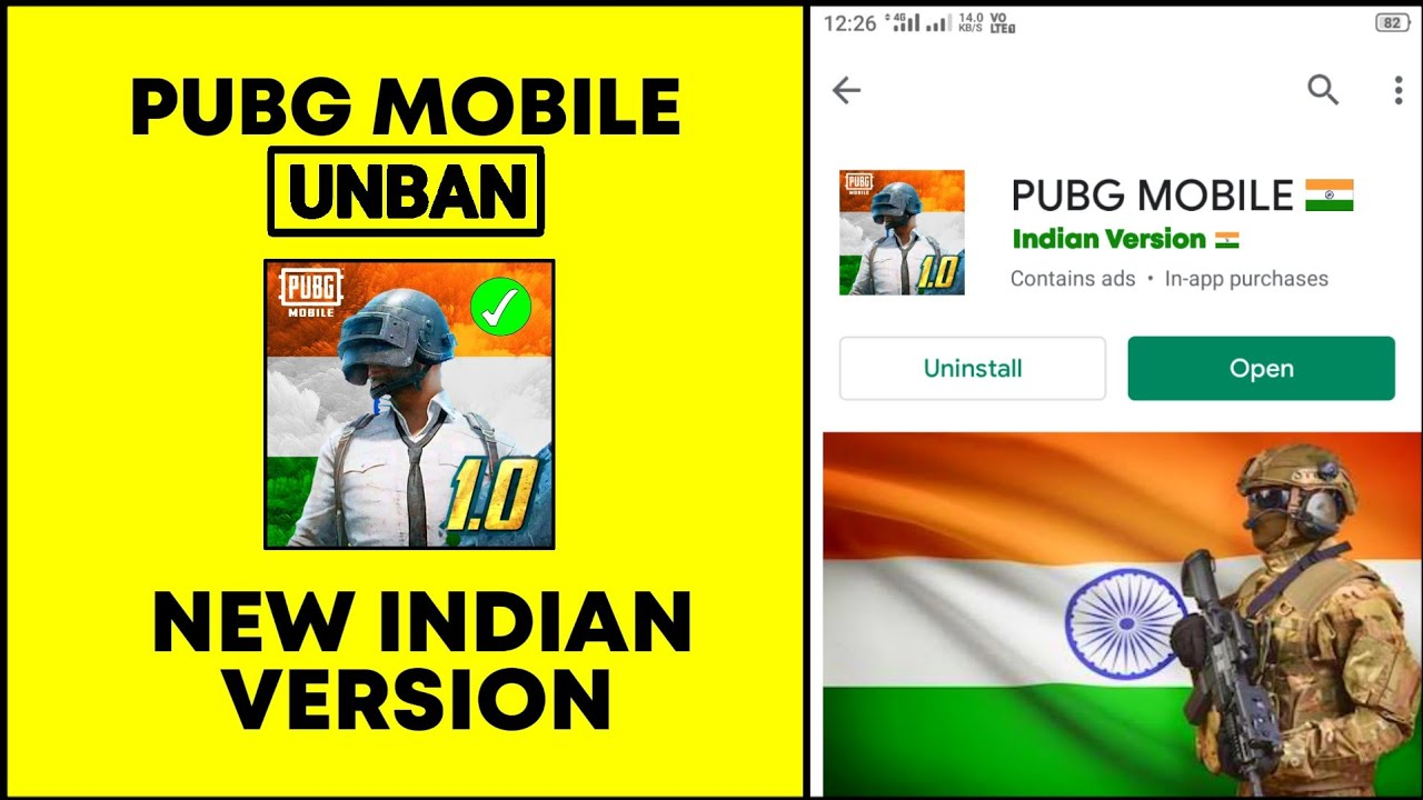 Finally Pubg Mobile Unban India || New Indian Version is Here Official Announcement By Pubg