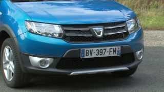 Yeni Dacia Sandero Stepway test -- sürüş yorum, yakıt tüketimi ve performansı videosu