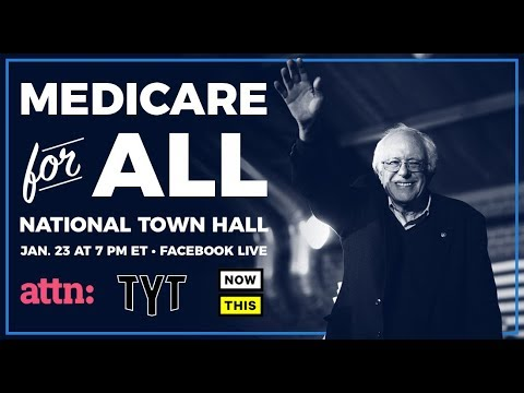 Bernie Sanders' Medicare for All Town Hall