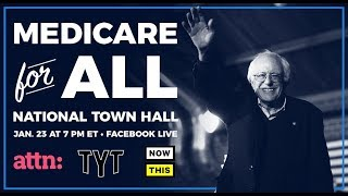 bernie sanders medicare for all town hall