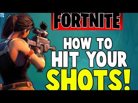 How To Use Aim Assist On Console Hit Your Shots FORTNITE HOW TO HIT MORE SHOTGUN SHOTS IN FORTNITE