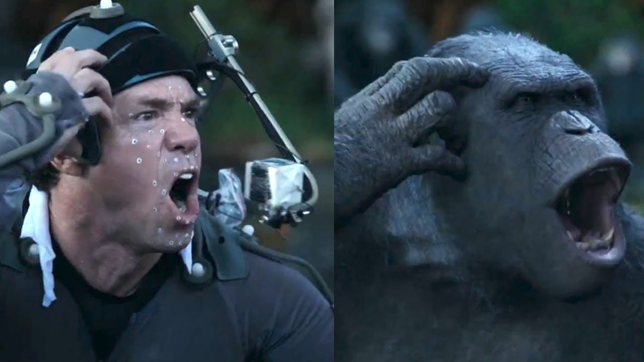 Dawn Of The Planet Of The Apes Motion Capture Clip Youtube