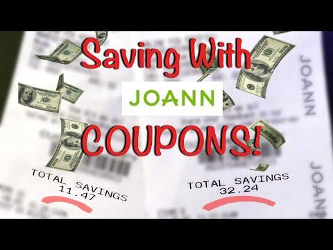 Saving with Joann Fabric Coupons!   Tips & Tricks