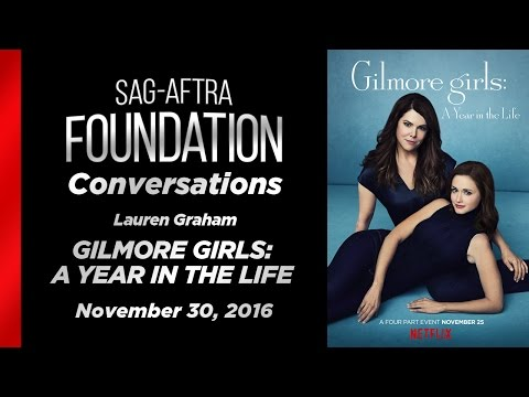 Conversations with Lauren Graham of GILMORE GIRLS