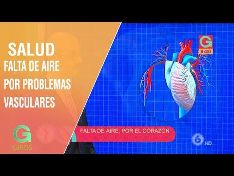 Falta de aire por problemas vasculares