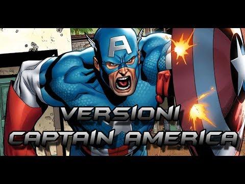 LE I ALTERNATIVE DI CAPTAIN AMERICA -MARVEL COMICS-
