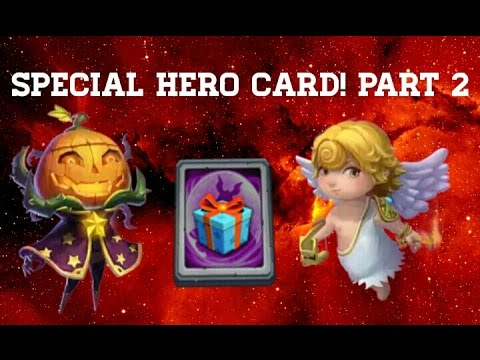 Castle Clash Opening A Special Hero Card Part 2!