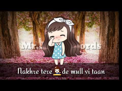 Akh Lagdi -Akhil 30sec WhatsApp Status