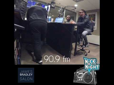 James Bradley Salon on 90.9fm Guilford College Radio in Greensboro NC