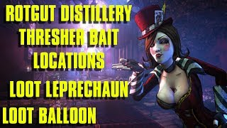 Rotgut Distillery: Thresherbait Tutorial Plus Loot Balloon and Leprechaun Location!!!