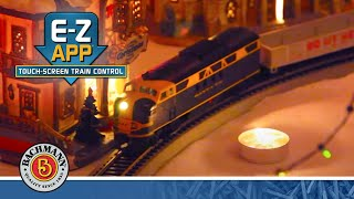 Bachmann Blue Lightning Set E-Z App Bluetooth HO Video