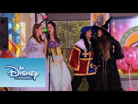 Violetta: Momento musical - ¨Algo suena en mi¨ en la fiesta de disfraces