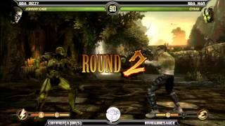 MK9 casusls, GGA Dizzy (Cage) vs GGA HAN (Cyrax)
