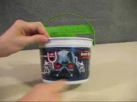 Details about  /Angry Birds Star Wars 2013 Happy Meal Pail