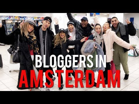 VLOG: BLOGGERS IN AMSTERDAM