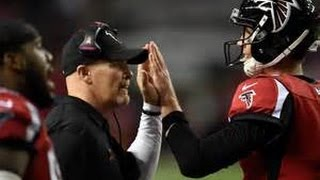 The Atlanta Falcons beat up The L.A. Rams 1 win away from a winning season since 2012