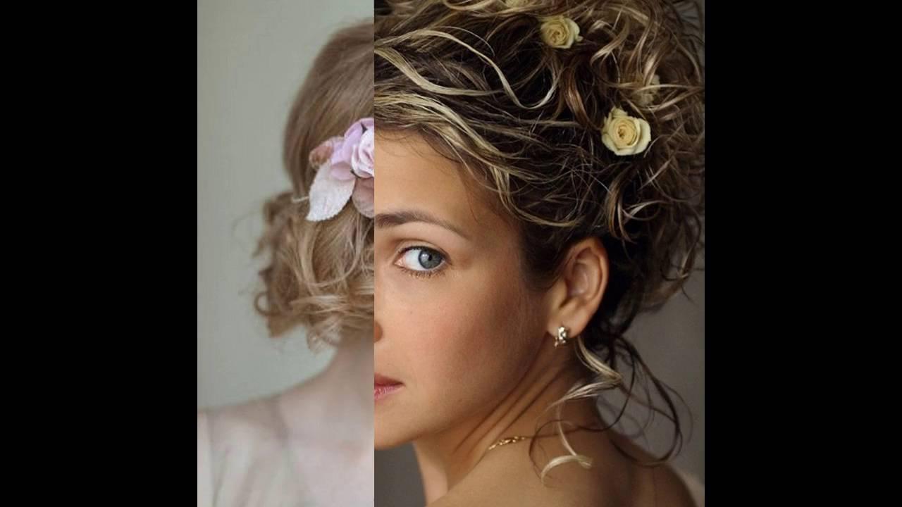 Kurze Lockige Hochzeit Frisuren