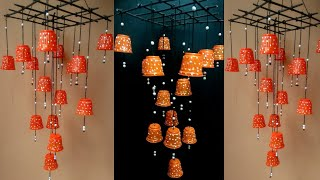 DIY II  Plastic cups amazing Wind chime design