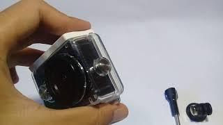 Cara Memasang Waterproof yi cam ke camera..
