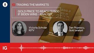 Gold price to reach $2500 if Biden wins - Dan Popescu