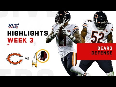 The Monsters of the Midway are Back w/ 5 Turnovers & 4 Sacks! | NFL 2019 Highlights
