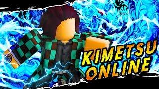 Training To Be The Next Pillar | New Demon Slayer Game | Kimetsu Online in Roblox | iBeMaine