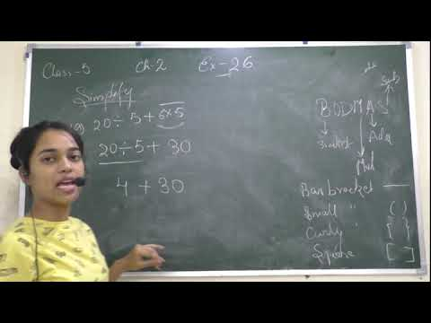 """""""LARGE NUMBER """" EXERCISE 2.6 CLASS 5 MATH NCERT( SIMPLIFICATION BY BODMAS )"""