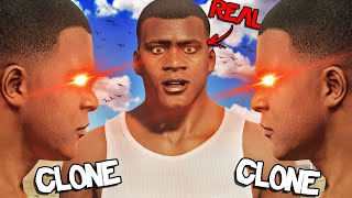 FRANKLIN Gets CLONED In GTA 5 (Crazy)