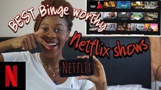 MY TOP 10  NETFLIX RECOMMENDATIONS! 2020 *binge worthy shows * | Ria Om