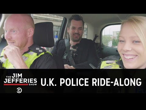 Jim's U.K. Police Ride-Along - The Jim Jefferies Show