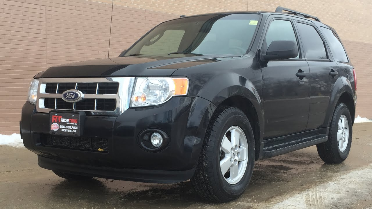 Ford Escape Sunroof >> 2010 Ford Escape XLT 4WD - Leather, Sunroof, Alloy Wheels, V6   AMAZING VALUE - YouTube