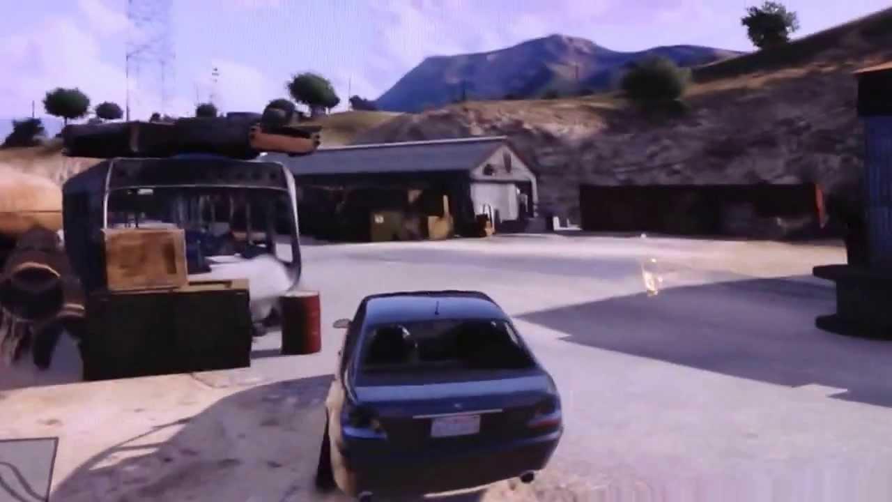 Grand theft auto 5 car scrapyard - YouTube