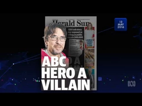 ABC Media Watch on Duncan Storrar (16/5/16)