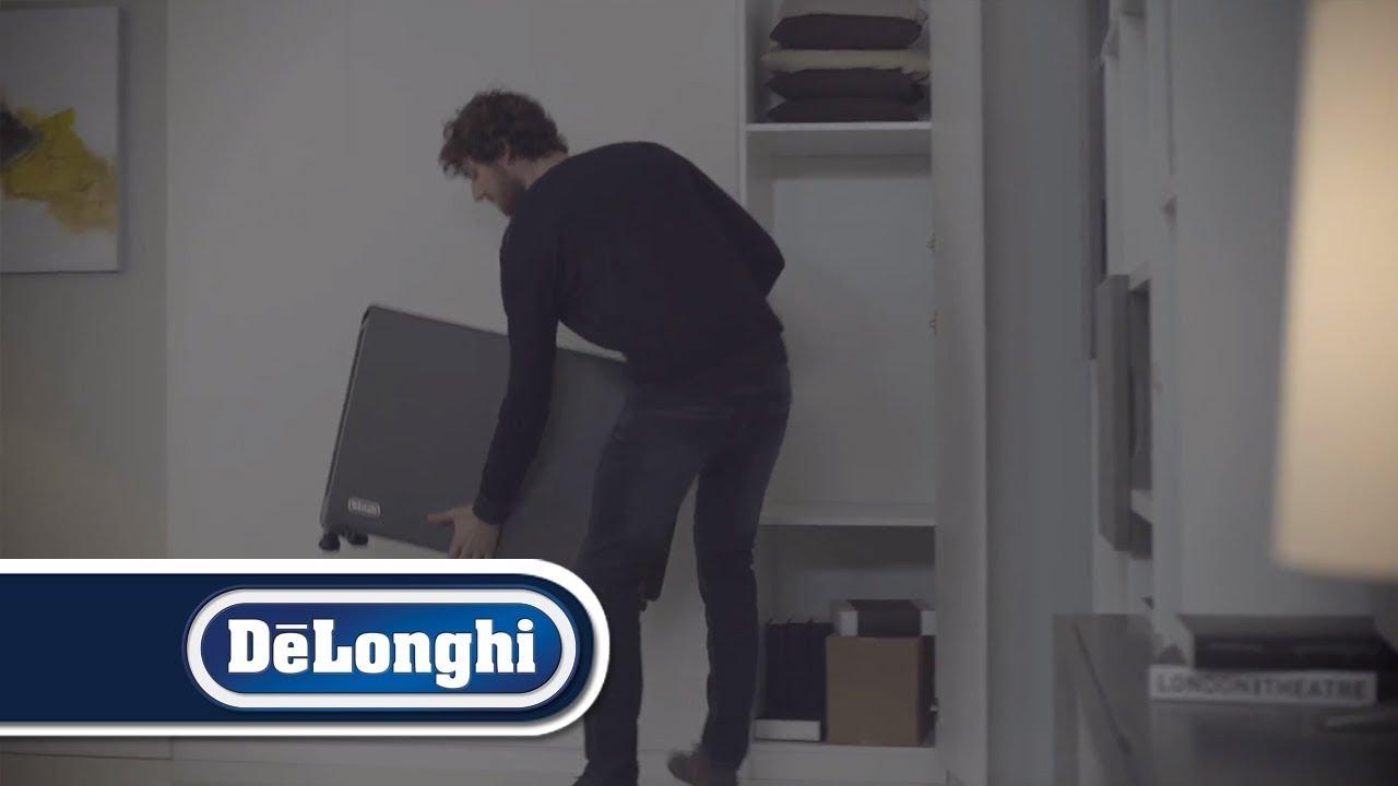 De Longhi Slim Style Ceramic Convector Heater Youtube