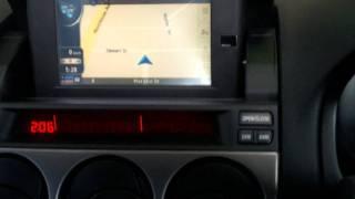 Mazda Atenza Jap to NZ navigation conversion