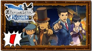 Professor Layton Vs Phoenix Wright - Part 1:  On a Dark and Stormy Night [US Release]