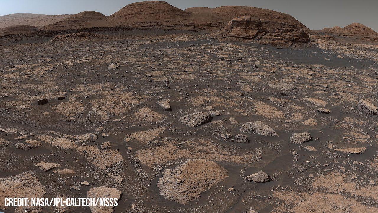 So detailreich haben wir den Mars noch nie gesehen - Neues Curiosity Panorama in hoher Auflösung