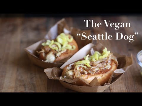 "The Vegan ""Seattle Dog"""