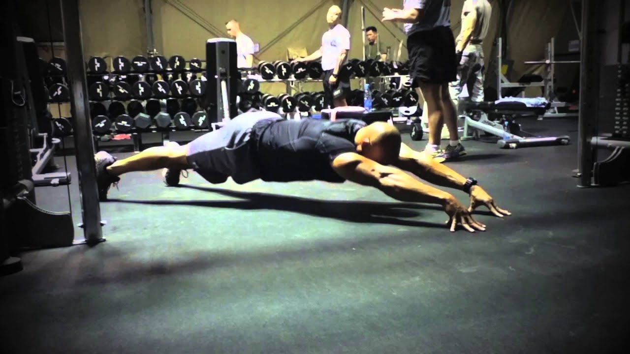 Advanced Bodyweight Chest Exercise - LaLanne Push Ups ...